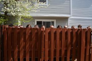 Frightening the neighbors