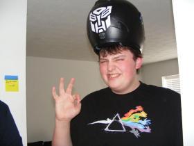 The helmet of Padriag