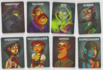 Ultimate werewolf cards