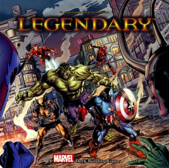 Legendary Marvel Card Game cover