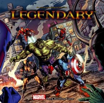 Legendary Marvel Card Game cover