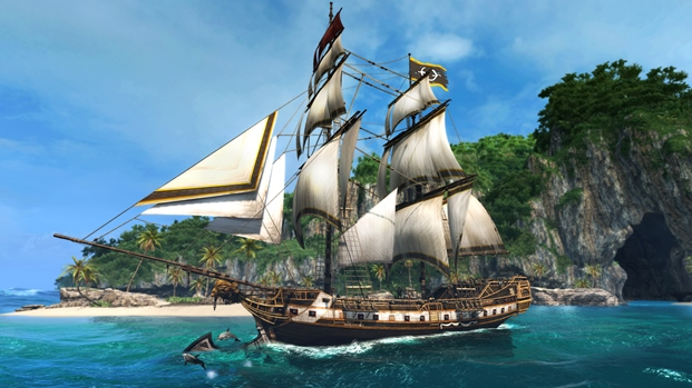 assassin_s_creed_4__caribbean_sea_and_ship_by_applejack324-d7lvp74