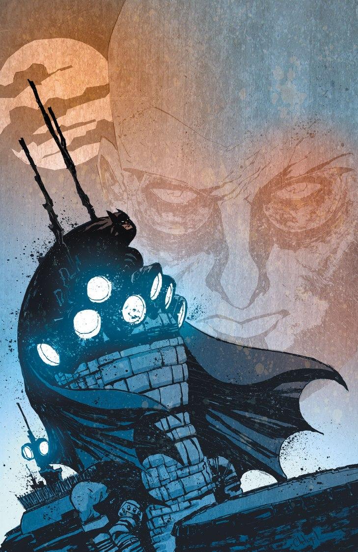 Batman Arkham Unhinged Cover 3