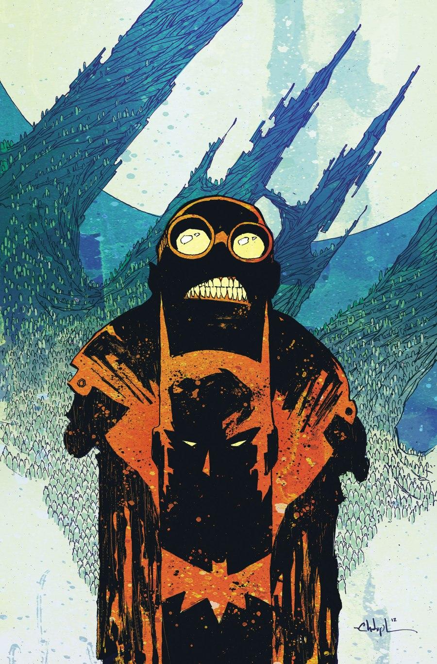 Batman Arkham Unhinged Cover 1