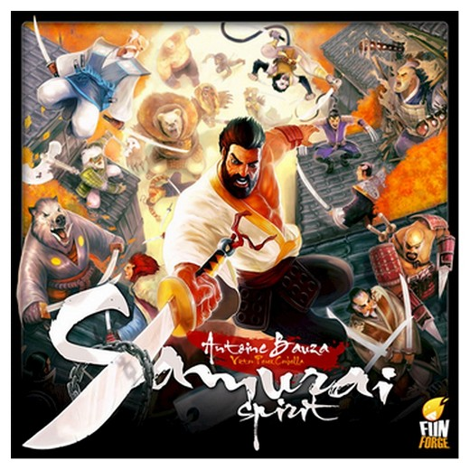 Samurai Spirit board game top