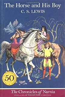 horse and his boy reading cover