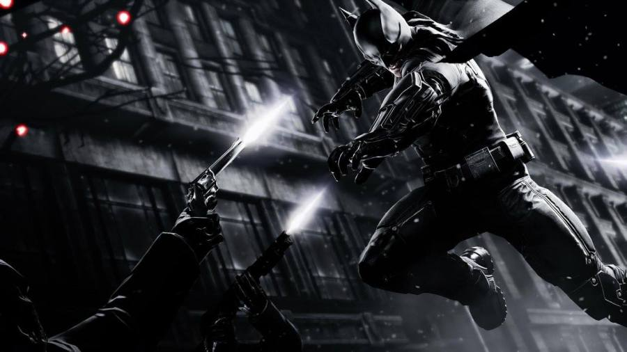 Arkham Origins title screen shot