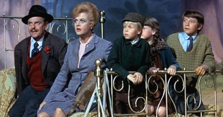 Bed Knobs and Broomsticks film cell