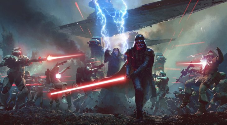 lord of the sith concept art