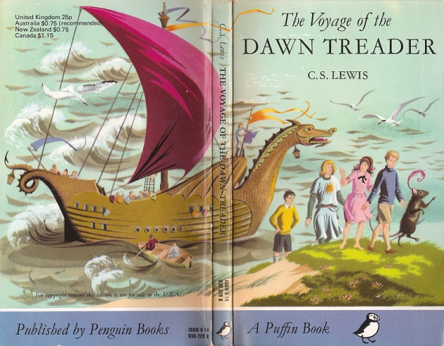 Voyage of the Dawn Treader full cover