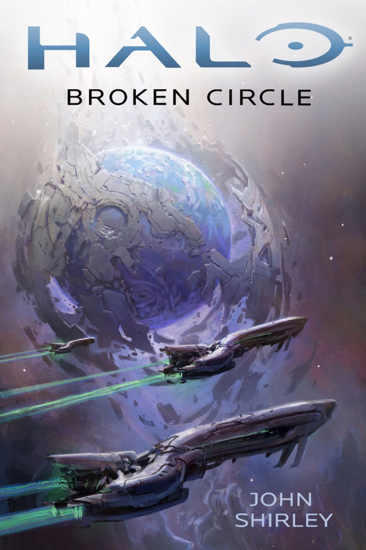 Halo Broken Circle Cover