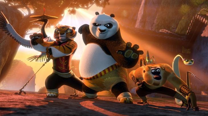 Kung Fu Panda 2 scene