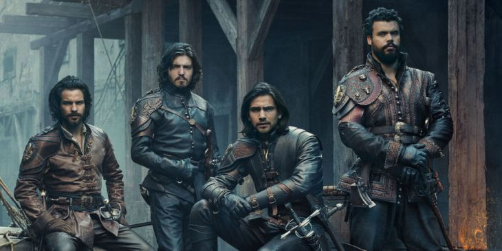 bbc musketeers