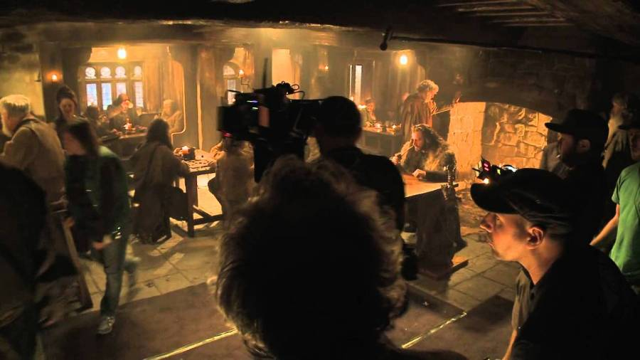 behind the scenes hobbit