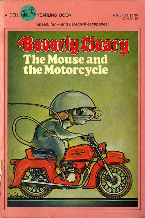 mouse motorcycle cover