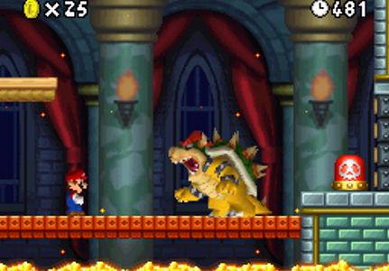 New Super Mario Bros. screen