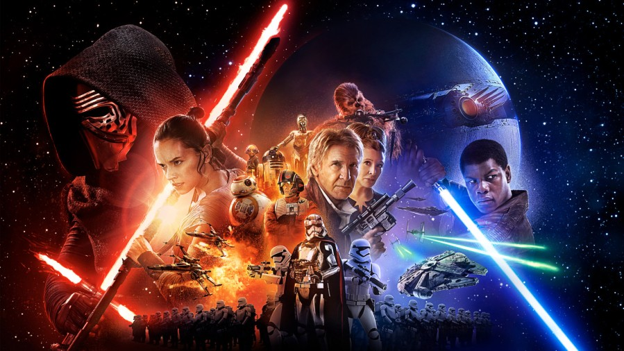 the force awakens poster star wars