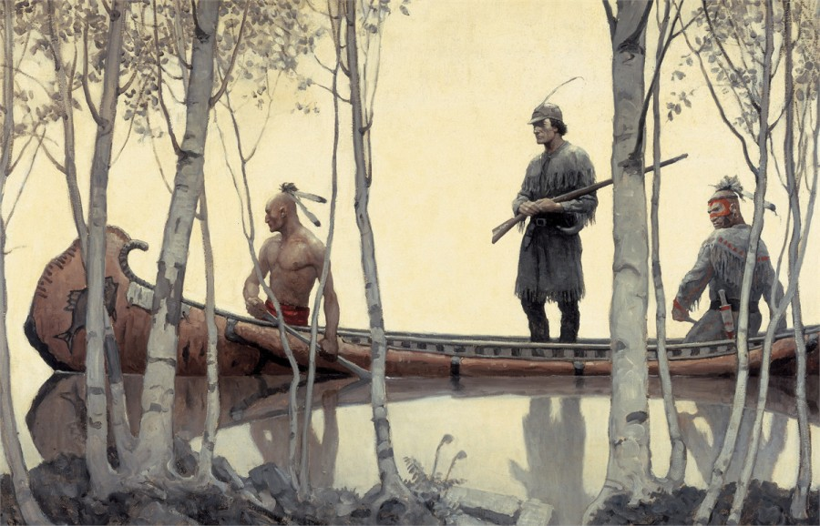 last of the mohicans painting