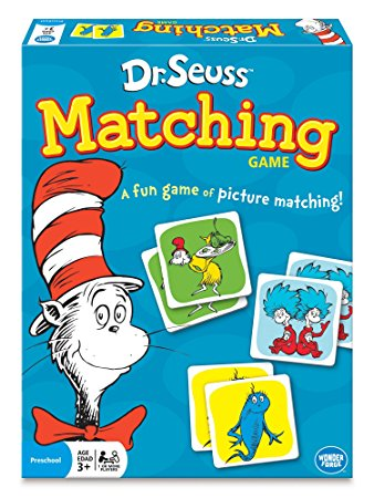 dr. seuss matching game box top