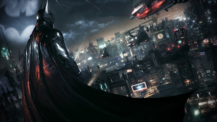 batman arkham knight city shot