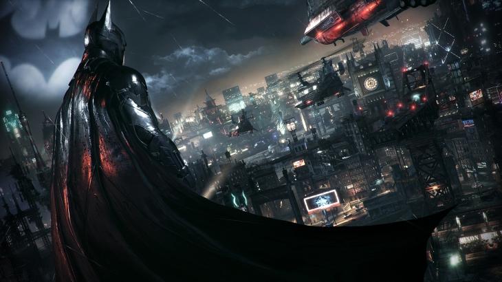 batman arkham knight city shot