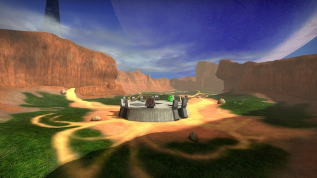 Halo Blood Gulch map