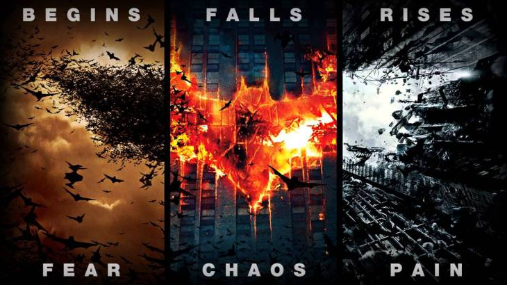 nolan batman trilogy graphic