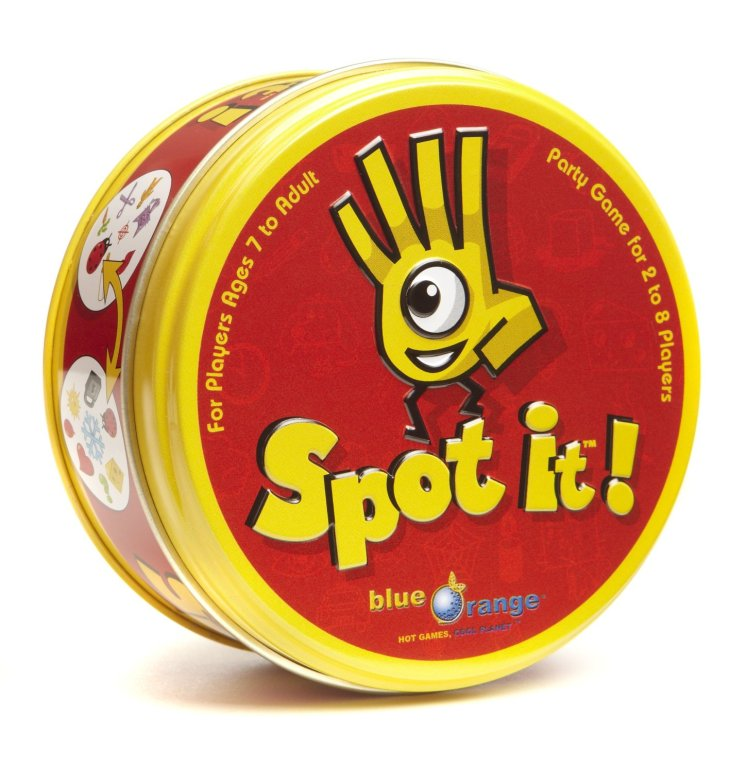 spot it tin case
