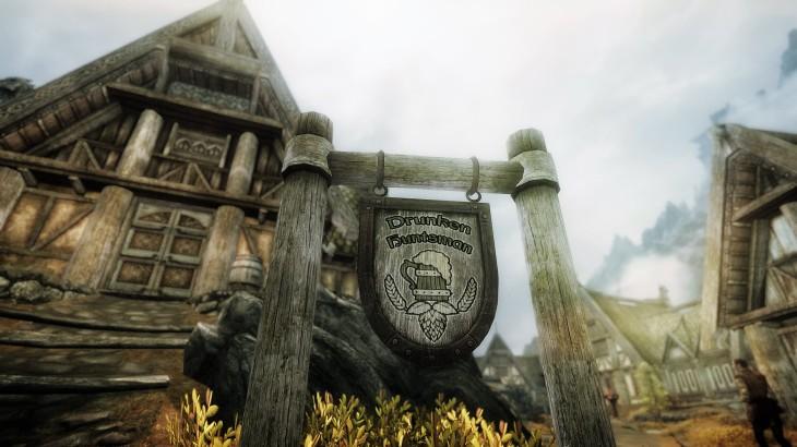 The Drunken Huntsman tavern