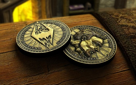 Septims from Skyrim