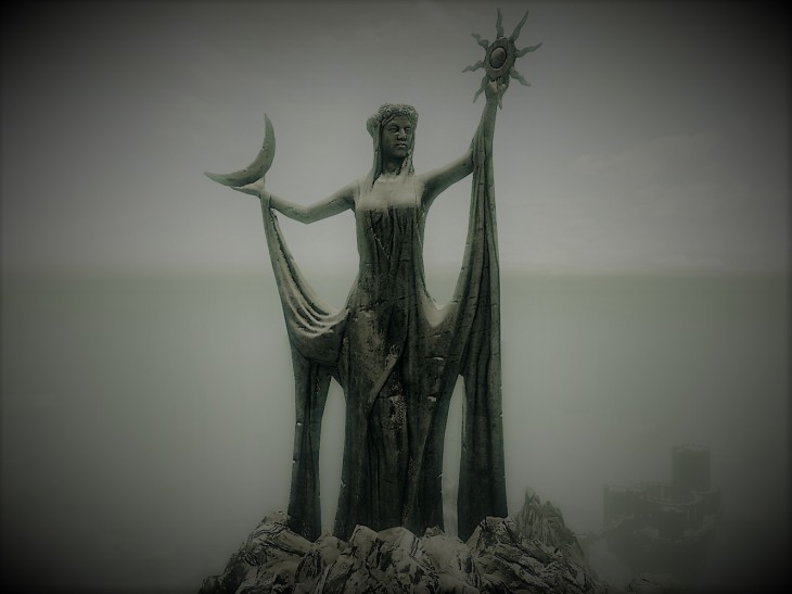 Shrine of Azura in Skyrim