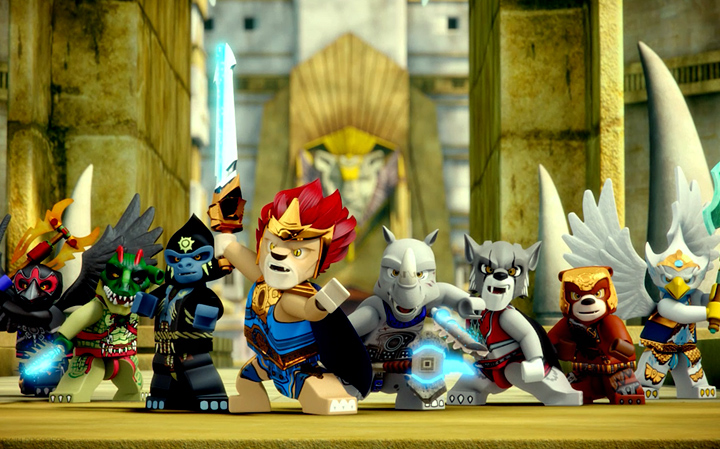 Legends of Chima group shot