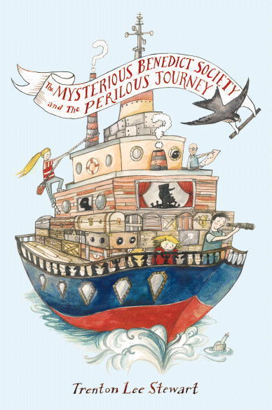 the mysterious benedict society and the perilous journey book cover