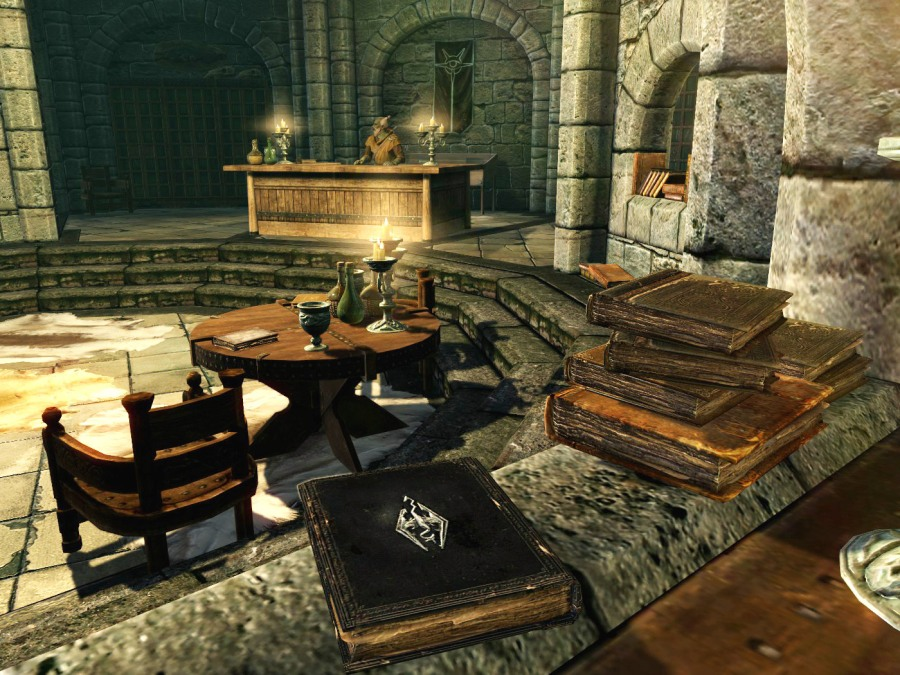 skyrim quest library