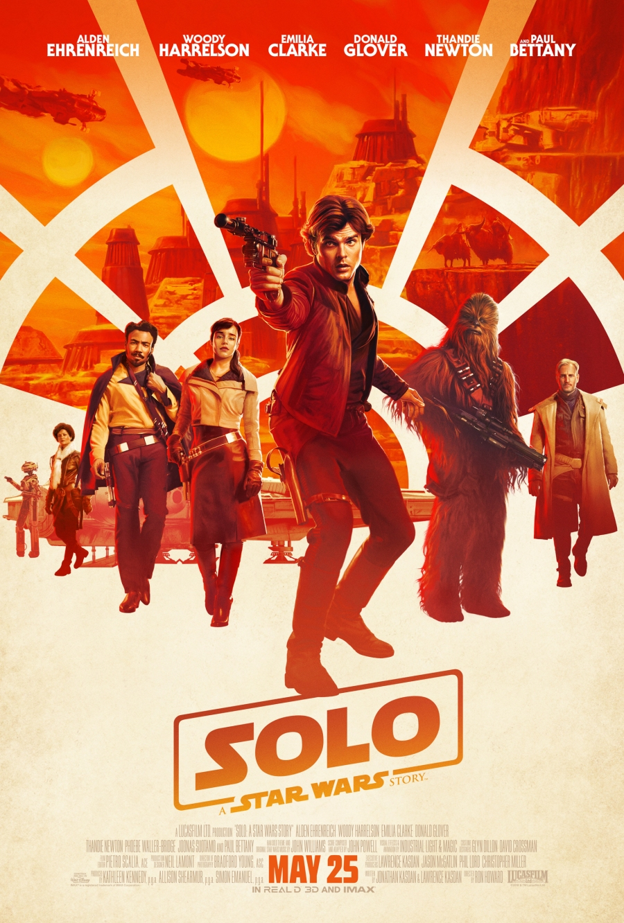 Solo movie poster