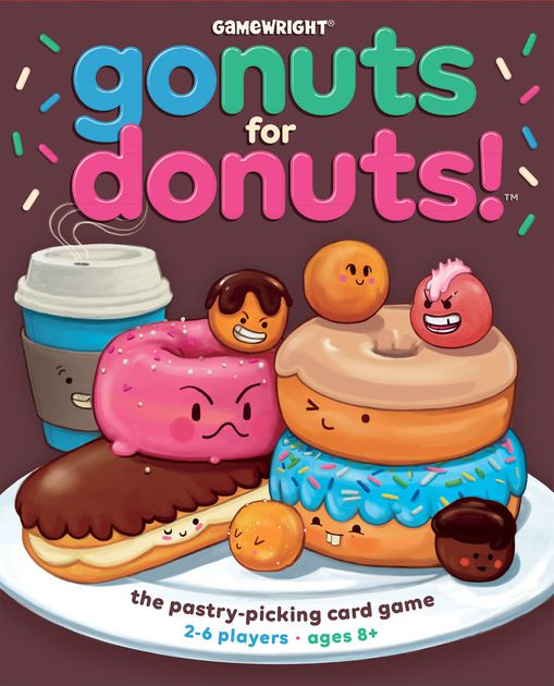 Go Nuts for Donuts! box cover