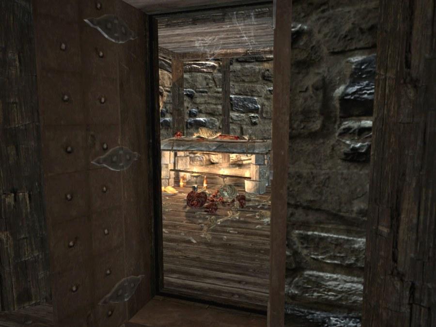 Secret Skyrim room