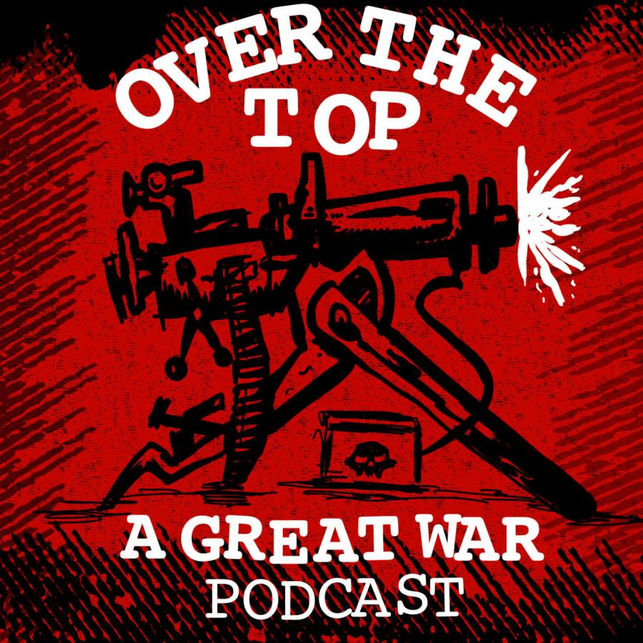 Over the Top podcast logo